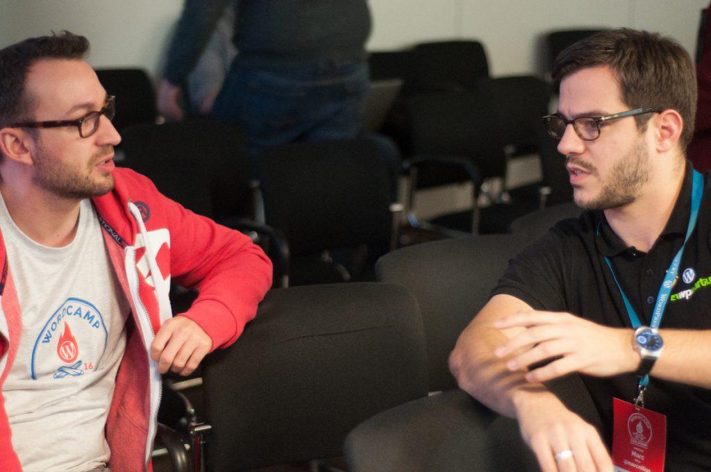 Gespräche auf dem WordCamp Köln 2016